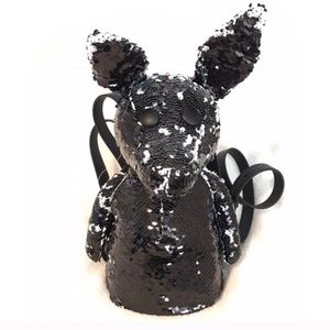 RARE Kendall & Kylie Sequin Normie Dog Backpack